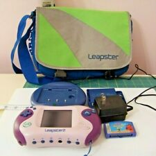 LeapFrog Leapster 2 Learning System + Accessories GREAT Pre-owned Condition