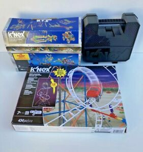 K'Nex Bundle Star Shooter Rollercoaster & 2 Starter Kit With Boxes Not Checked