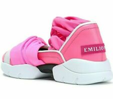 EMILIO PUCCI CITY UP RUFFLE TRAINERS SLIP-ON SNEAKERS SHOES SCHUHE TURNSCHUHE 37