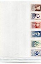 serie de timbres français neufs de 1953 ( Lyautey ) avec gomme d origine sans ch