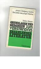 Stefan Blessin - Johann Wolfgang Goethe: Die Leiden des jungen Werther  - 1988