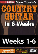Lick Library COUNTRY GUITAR IN 6 WEEKS Steve Trovato 6 DVD Set Video Lessons