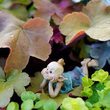 Miniature Dollhouse Fairy Garden Garden Pixie In Thought