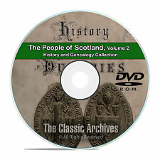 Scotland Vol 2 People Cities Towns History and Genealogy 133 Books DVD CD B48