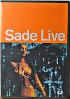 DVD Sade Live Concert 17 Songs Sweetest Taboo Smooth Operator Paradise Jezebel