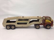 VINTAGE TONKA METAL TRACTOR TRAILER SEMI TRUCK DIECAST BIG RIG ANTIQUE TOY CAR 1