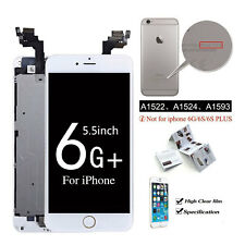for iPhone 6 Plus White LCD Touch Screen With Camera Home Button Replacement