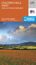 Chiltern Hills West Explorer Map 171 - New - OS - Ordnance Survey