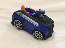PAW PATROL CHASE PUP POLICE CRUISER EXCLUSIVE CAR Diecast METAL TOKYO DRIFT