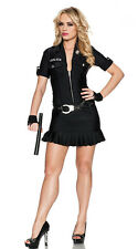 Arresting Officer Women's Sexy Cop Police Costume Size Large