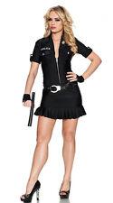Arresting Officer Women's Sexy Cop Police Costume Size Medium