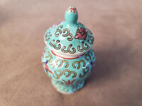 Rare Vintage Porcelain Ginger Jar Made Exclusively for Lillian Vernon. New.