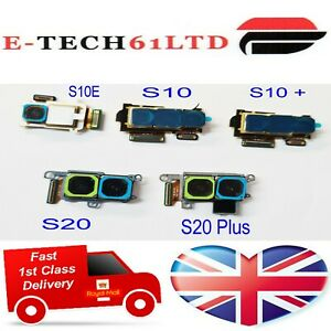 For Samsung Galaxy S10E S10 + S20 S20 Plus Back Rear Main Camera Flex UK Seller