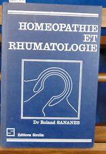 Sananes Homéopathie et rhumatologie...