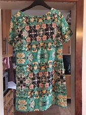 Darling floral tunic top / dress - size large