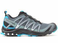 Salomon Authentic Men's Xa Pro 3D Gray / Blue Hiking Shoes 398674