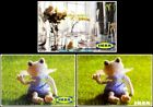 3x IKEA DOLL FROG OLD & NEW LOGO FLOWERS & GLASSES COLLECTIBLE GIFT CARD LOT For Sale