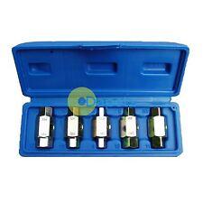 6Pc Oil Sump Drain Fill Plug Brake Key Set Axles GearBox Garage Tool Car Repair