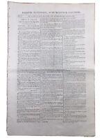 Procès de Marie Antoinette 1793 Veuve Capet Louis 17 Gardes Suisses Révolution