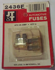 ATC 25 JT&T Pack of 3 Buss Fuses 25 Amp