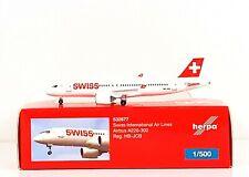 Herpa Swiss International Air Lines Bombardier CS300 (A220-300) 1:500 (532877)
