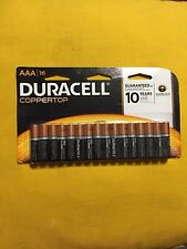 Duracell Coppertone AAA Batteries 16pk