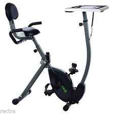 Stamina WIRK Ride EXERCISE BIKE WORKSTATION Standing Desk Stand-Up Laptop Tablet
