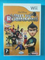 MEET THE ROBINSONS Original Nintendo Wii & U PAL Video Game (COMPLETE)