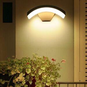 Outdoor Surface Mounted Lamp Porch Waterproof Villa Park Exterior Wall Light 12W