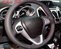 rivestimento copri volante in vera pelle Fiesta Mk6 VI