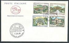 1985 ITALIA FDC CAVALLINO VILLE NO TIMBRO ARRIVO - CV1985-2
