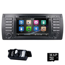7'' In Dash Car Stereo DVD GPS Player I Navigation Radio for BMW E39 E53 X5+Cam