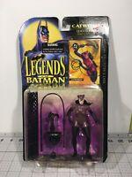 NEW 1994 Kenner Legends Of Batman Catwoman w/ Quick Climb Claw & Net Figure