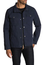 UGG Navy Blue Cohen Waxed Cotton Jacket Mens Small *NEW* $295