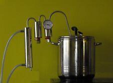 Destille Destillieranlage Schnellkochtopf 9 Liter Schnapsbrennen Samogon