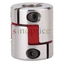 6.35x12mm Shaft CNC Plum Coupling Shaft Coupler D25L30 for Capacitor Equipment