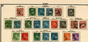 Barbados 1852-1907: Nearly Complete Stamp Collection, Incl. Stempelmarken, / O