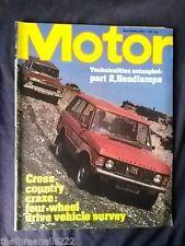 Monthly Cars, 1970s Motor Transportation Magazines