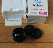 35-70 mm 1 : 3.5-4.6 Tokina AF370II pour Pentax AF, neuf en boîte