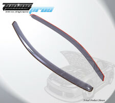 Light Gray Rain Visor Deflector 2pcs Out Channel For Pontiac G5 Coupe 2005-2010