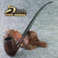"D.Balandis LONG Lotr Churchwarden TOBACCO "" RAW DALE EGG "" BRIAR smoking pipe"
