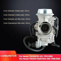 Replacement Carburetor For Honda ATV FOURTRAX TRX300 1988-00 TRX300FW 4X4 93-00