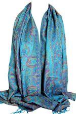 Quality Paisley Print Pashmina Feel Wrap Scarf Shawl Stole Hijab Head Scarf