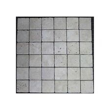Classico Tumbled Travertine Mosaic 50x50