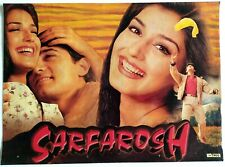 Rare Bollywood Actor Poster - Aamir Khan - Sonali Bendre - 12 inch X 16 inch