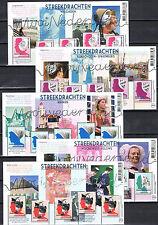 Beautiful Netherlands - Mooi Nederland 2013 5 souvenirsheets - MNH - Perfins