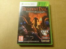 XBOX 360 GAME / RESIDENT EVIL: OPERATION RACCOON CITY