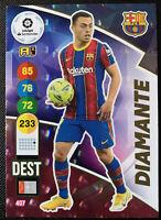2020-21 Panini Adrenalyn XL La Liga DIAMANTE RC ROOKIE DEST Barcelona #407