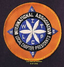 LMH Patch WINNEBAGO TRAVELERS Club RV Motorhome WIT W.I.T. LCP Local Chapter Prs
