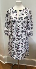 Maje Linen Silk Flower Print Summer Dress Size 1